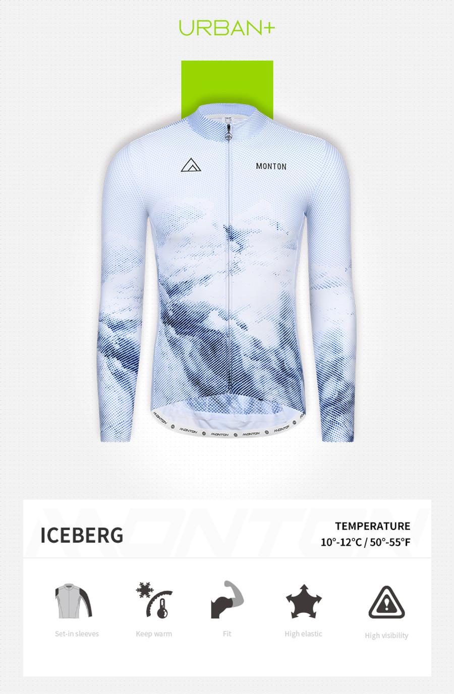 Men's Urban+ Iceberg Thermal l/s Jersey