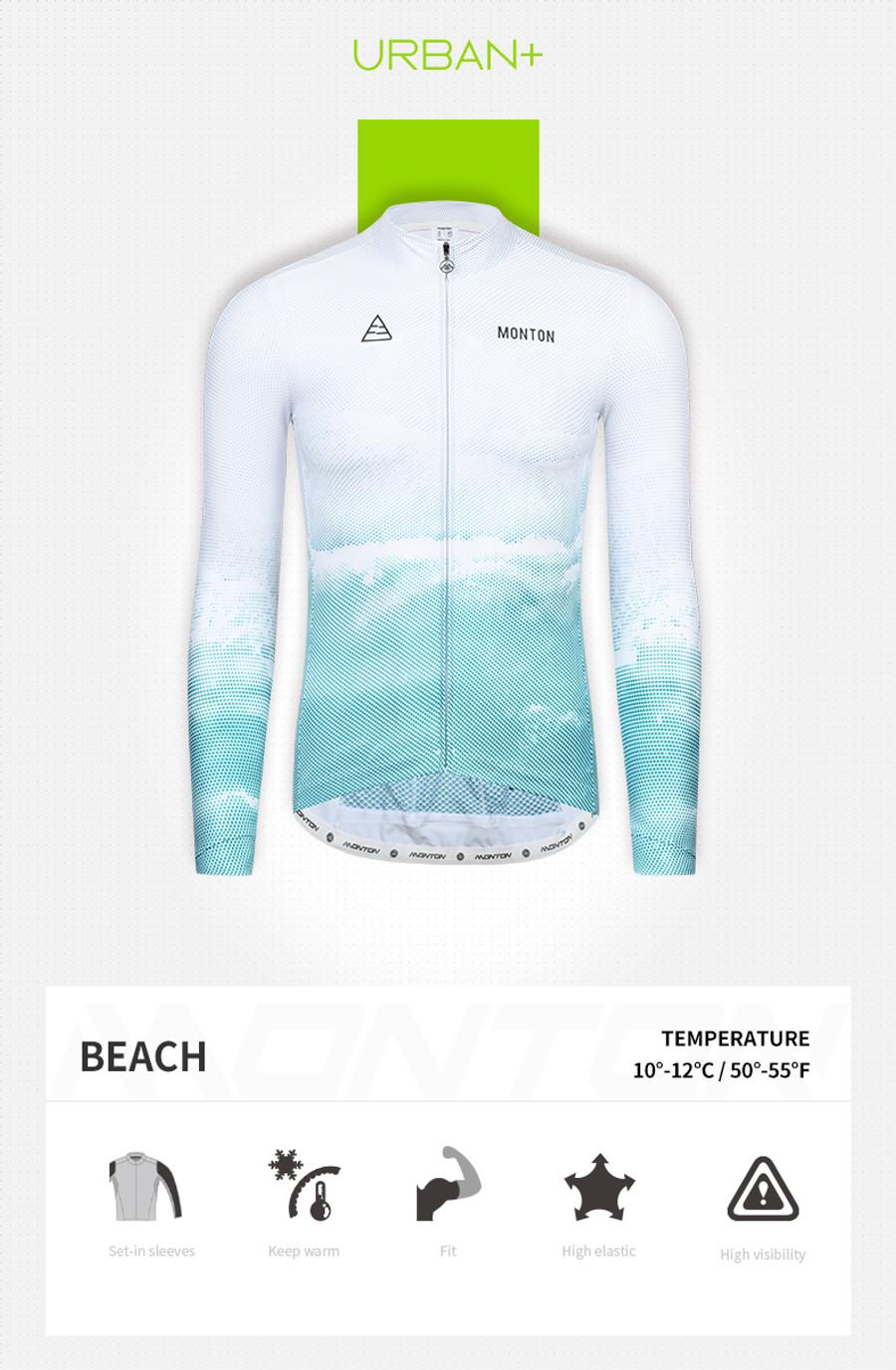 Men's Urban+ Beach Thermal l/s Jersey