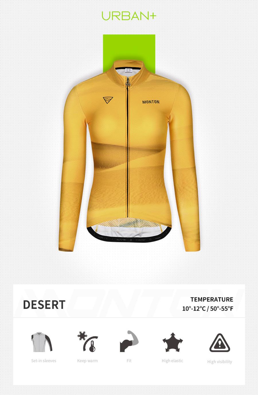 Women's Urban+ Desert Thermal l/s Jersey
