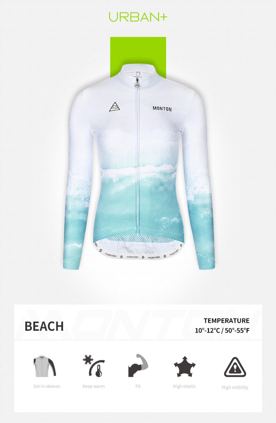 Women's Urban+ Beach Thermal l/s Jersey