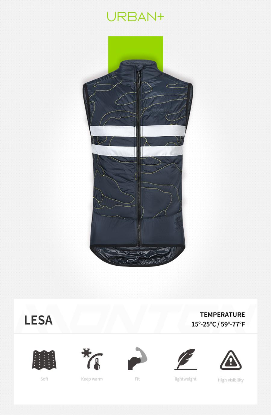 Men's Urban+ Lesa Thermal Gilet - blue