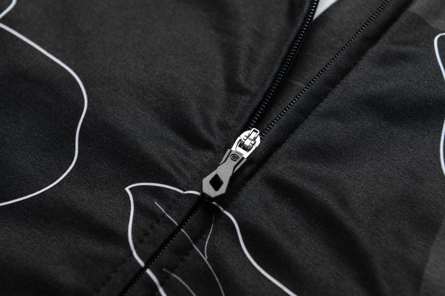 Men's Glamour Black Thermal Jersey
