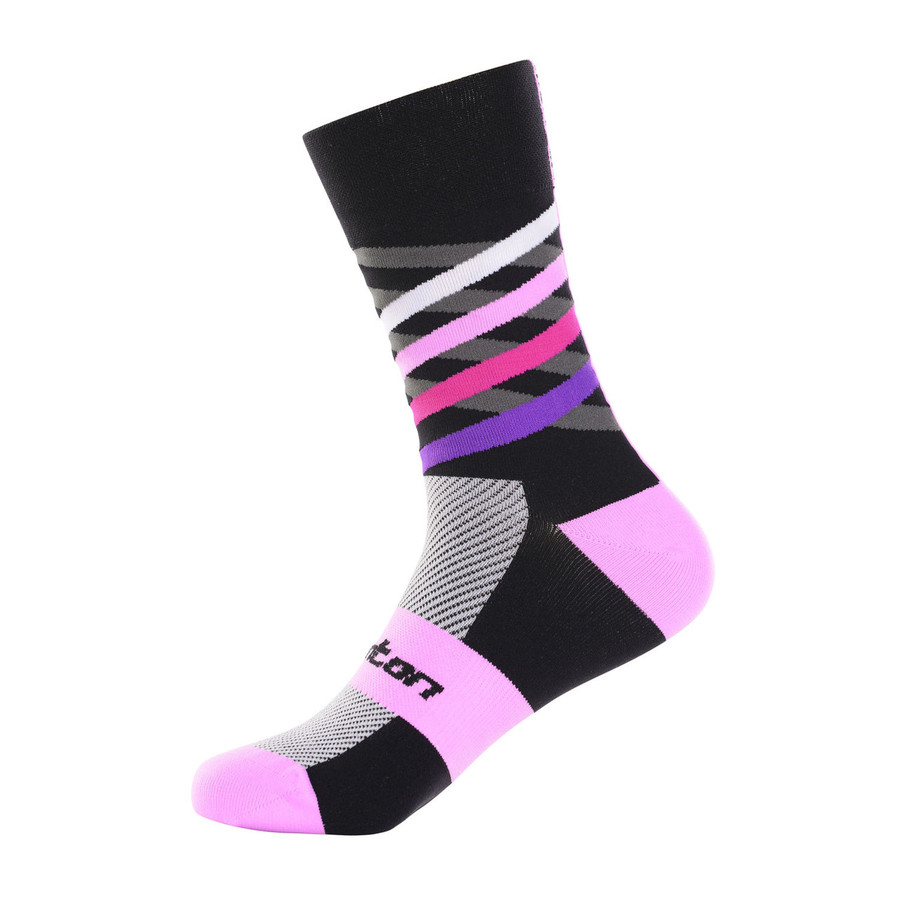 Dimensions purple/pink/black mix Socks