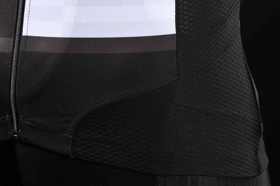 Men's 2018 Urban+ Mondrian black S/S Jersey