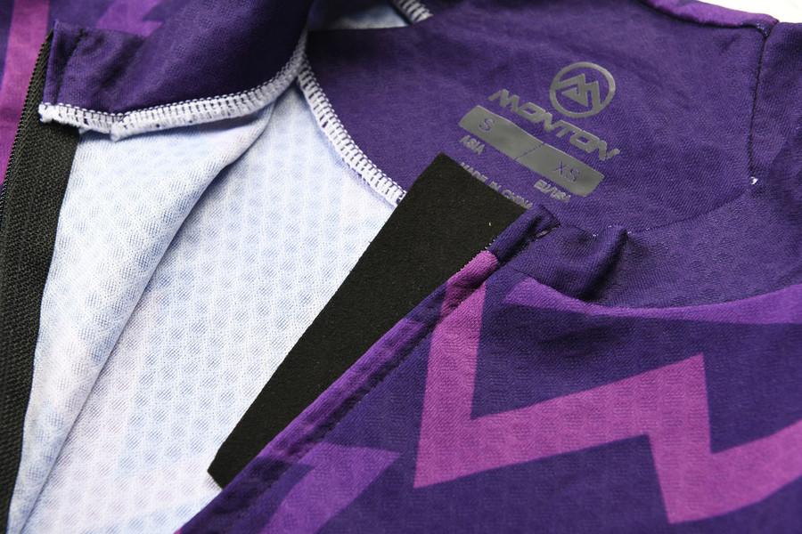 Women's 2018 Lifestyle Sonic l/s Jersey - purple