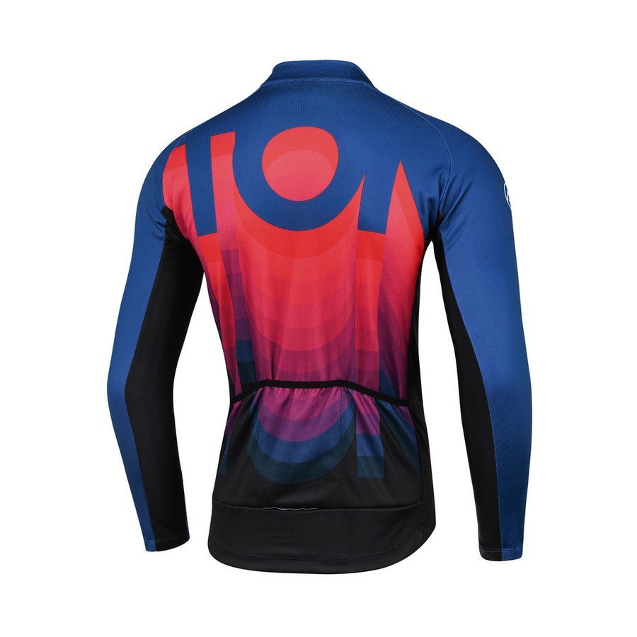 Men's 2018 Lifestyle Comet Thermal l/s Jersey - red/blue