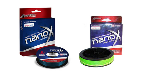Nano X 4-Braid - Blue or Chartreuse