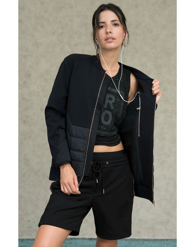 Roma Quilted Bomber