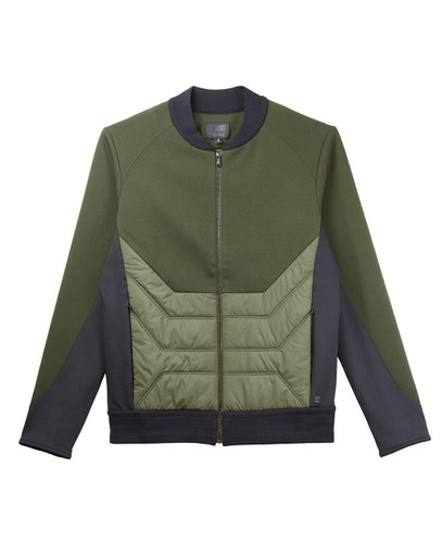 Mens Roma Quilted Bomber