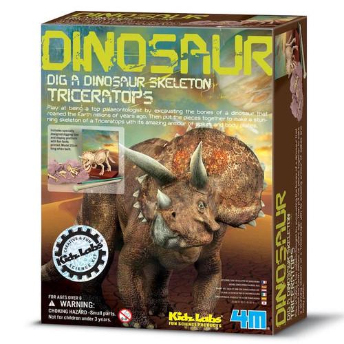Dig A Dinosaur Skeleton Kit: Triceratops