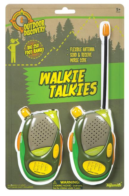 Walkie Talkie (Green & Yellow)