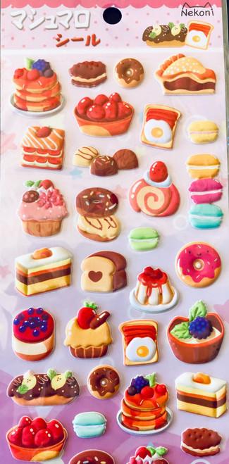 Puffy Dessert Sticker