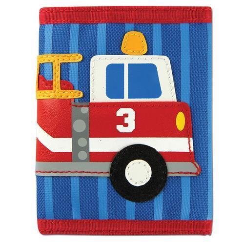 Firetruck Velcro Wallet