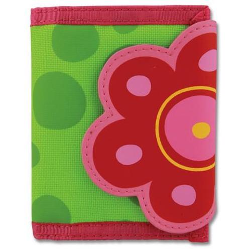Flower Velcro Wallet