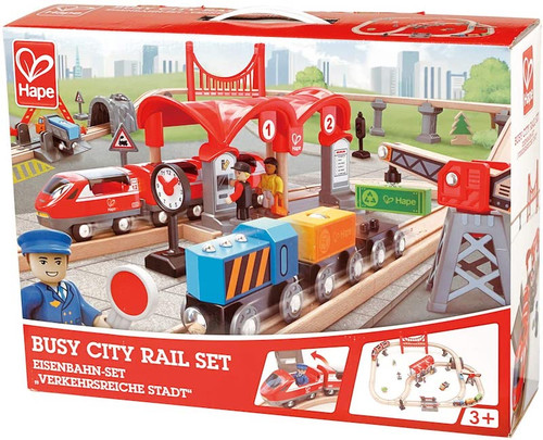 Busy City Rail Set