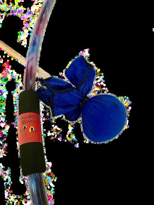 Bow & Arrow Set: Blue Tie-Dye