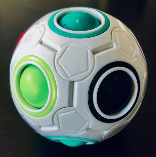 Rainbow Ball  Fidget Puzzle