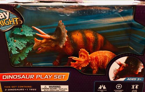 Dino  Playset: Triceratops