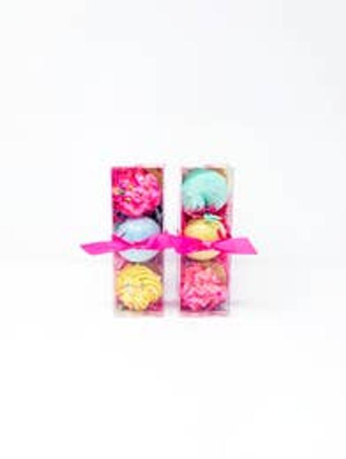Cupcake Bath Bomb Trio