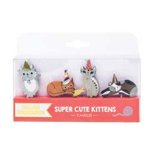 Cute Kittens Candles