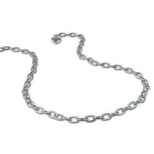 Charm Necklace: Silver Link