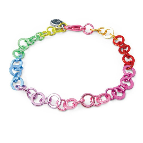 Charm Bracelet: Rainbow Link