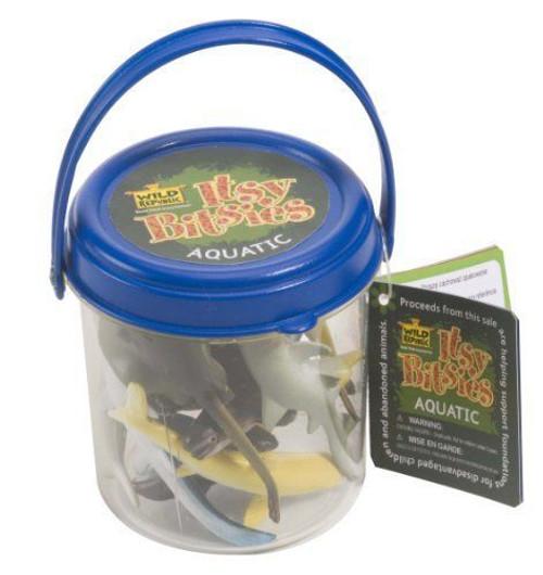 Itsy Bitsies Bucket: Aquatic Animals