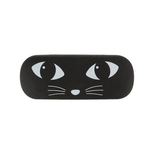 Black Cat Eyeglass Case