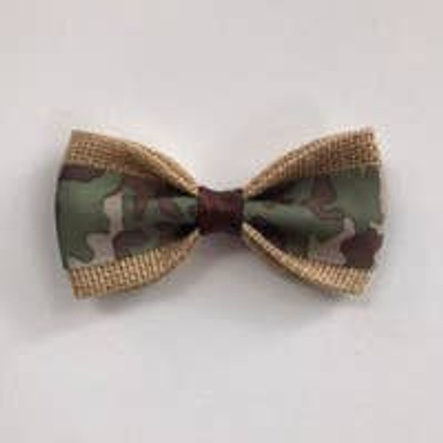 Pet Bow Tie: Camouflage