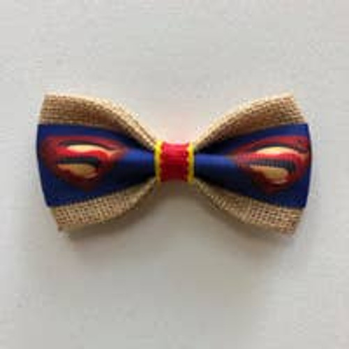 Pet Bow Tie: Superdog/Supercat