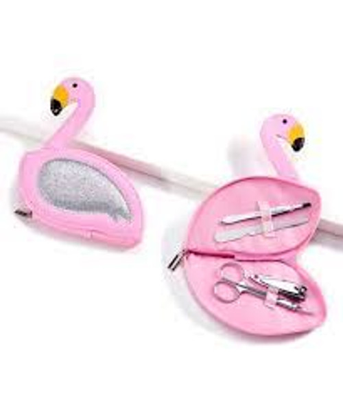 Flamingo Manicure Kit