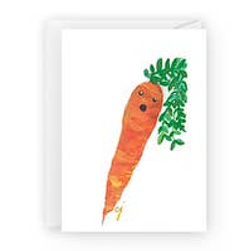 Carrot  with Face Card