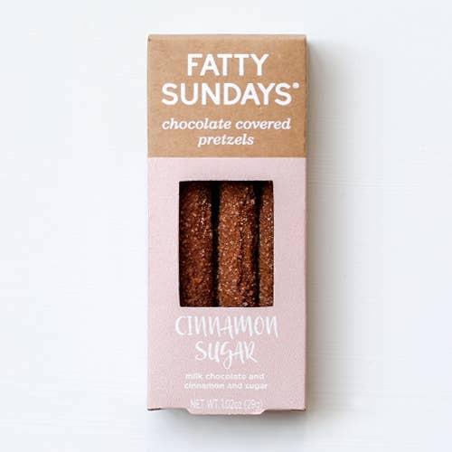 Cinnamon Sugar  Chocolate Covered Pretzels