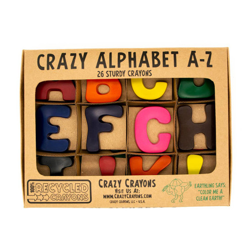 Alphabet Letter Crayons