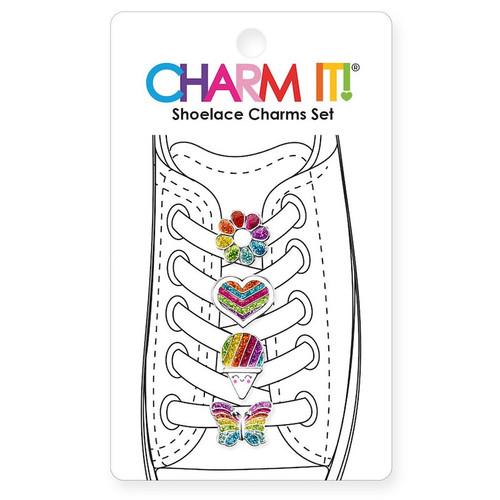 Shoelace Charms: Rainbow