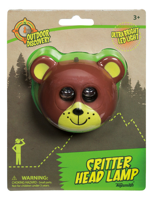 Critter Head Lamp: Bear