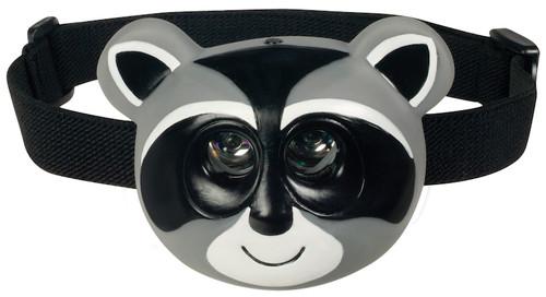 Critter Head Lamp: Raccoon