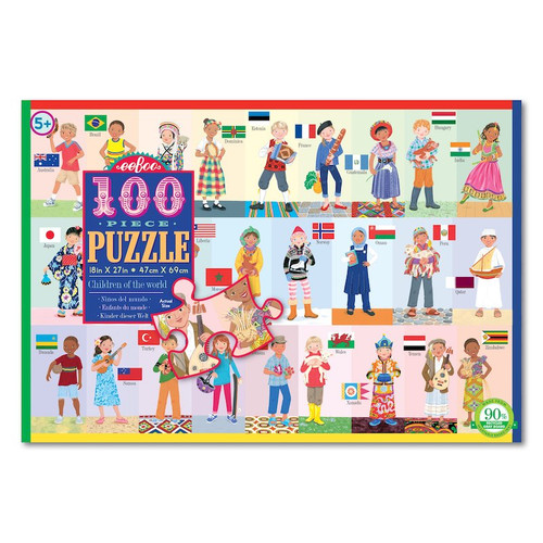 Children of the World Puzzle