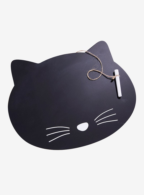 Black Cat Chalkboard