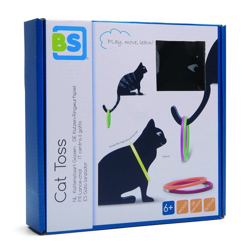 Cat Tail Ring Toss Game