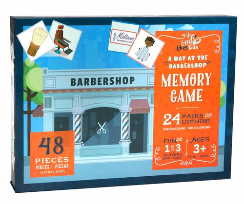 A Day in the Barbershop Memory Game