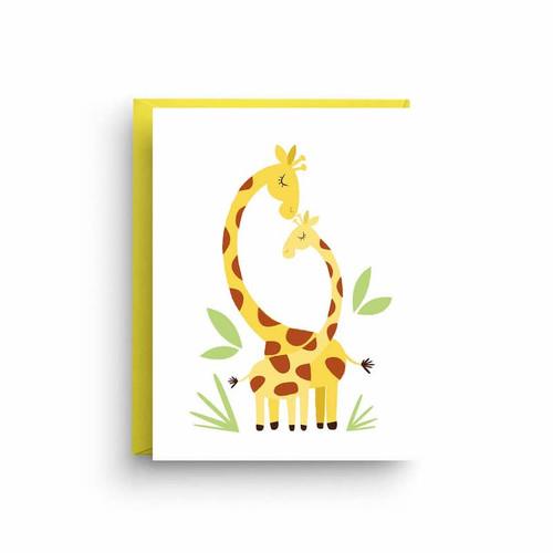 Baby Giraffe New Baby Card