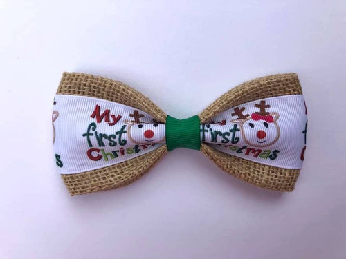 Pet Bow Tie: My First Christmas