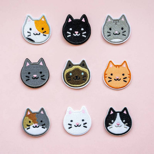 Kitty Iron-on Patch