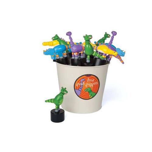 Dinosaur Push Puppets
