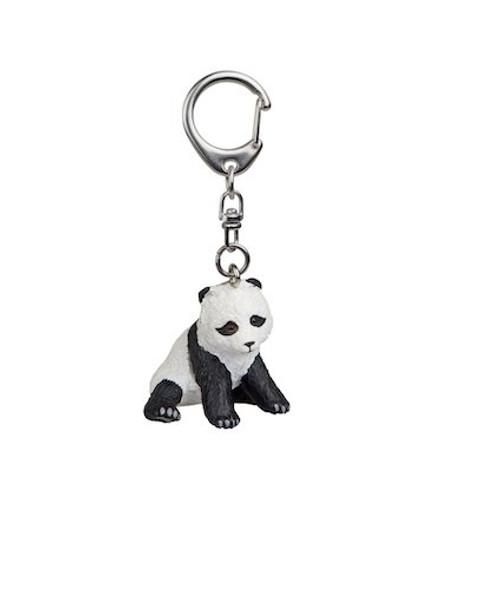 Sitting Panda Key Chain