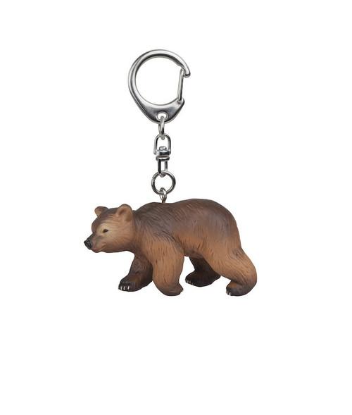 Pyrenees Bear Cub Key Chain