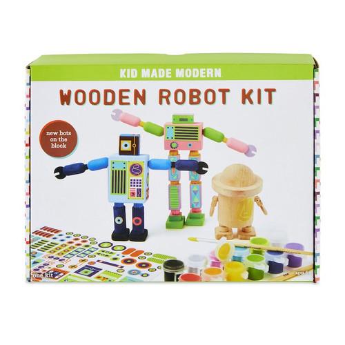 Wooden Robot Kit