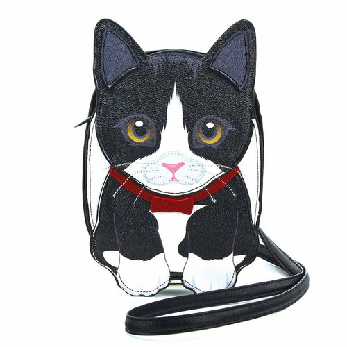 Tuxedo Cat Crossbody Bag