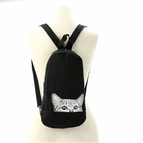 Peeking Cat Sling Backpack